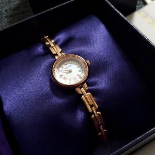 アガット(agete)のm…様専用 agete 時計 ピンクゴールド(腕時計)