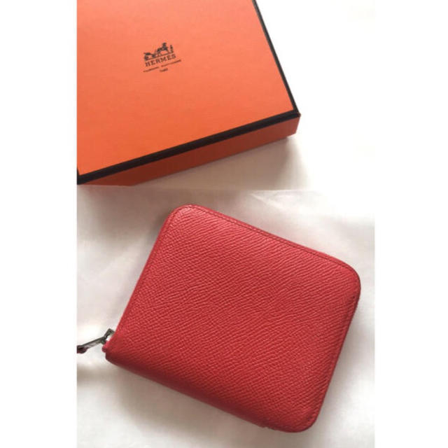the best attitude 2d98d 8e670 HERMES エルメス 財布 アザップ シルクイン コンパクト ラウンド ミニ | フリマアプリ ラクマ