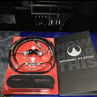 アトミック(ATOMIC)のATOMIC FLOYDSuperDarts Titanium +Remote (ヘッドフォン/イヤフォン)