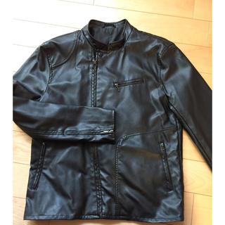 ジーユー(GU)の革ジャケット(ライダースジャケット)