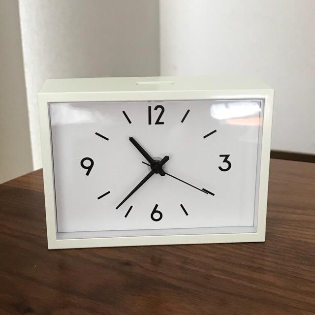 無印 駅の時計