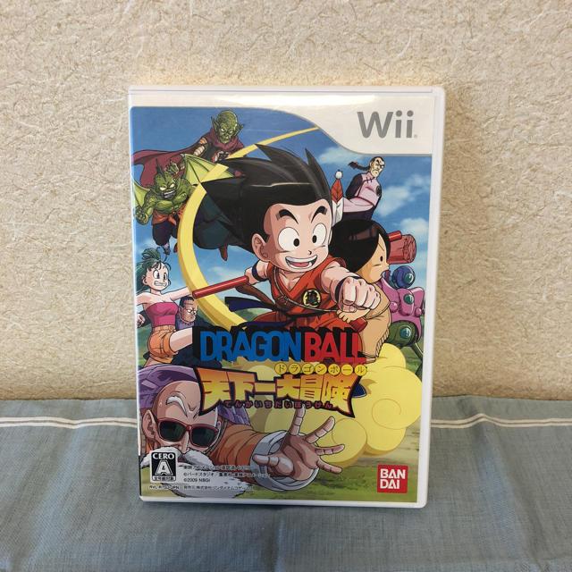 Wii(ウィー)のドラゴンボール 天下一大冒険 wii  エンタメ/ホビーのテレビゲーム(家庭用ゲームソフト)の商品写真