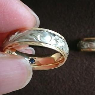 ワイレア ハワイアンジュエリー リング 14Kピンクゴールド&ホワイトゴールド(リング(指輪))