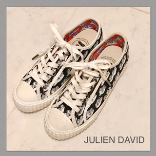 JULIEN DAVID ジュリアンデイヴィッド 22cm(スニーカー)