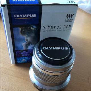オリンパス(OLYMPUS)の専用!OLYMPUS 単焦点レンズ 45ミリ f1.8(レンズ(単焦点))
