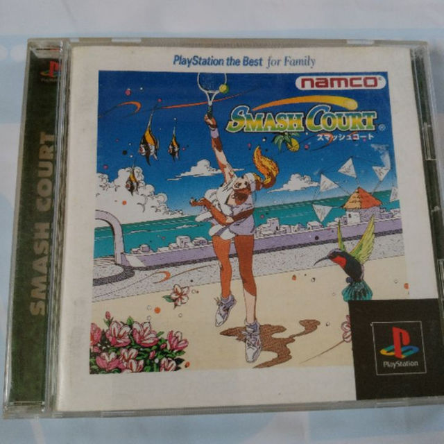 PlayStation(プレイステーション)のスマッシュコート エンタメ/ホビーのテレビゲーム(家庭用ゲームソフト)の商品写真