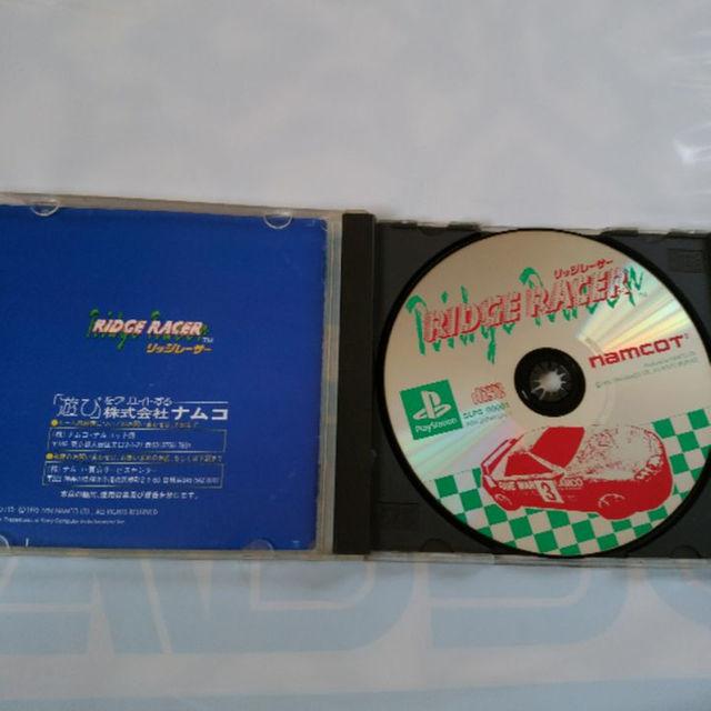PlayStation(プレイステーション)のリッジレーサー エンタメ/ホビーのテレビゲーム(家庭用ゲームソフト)の商品写真