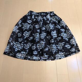 シマムラ(しまむら)のしまむら購入♡オーガンジー スカート(ひざ丈スカート)