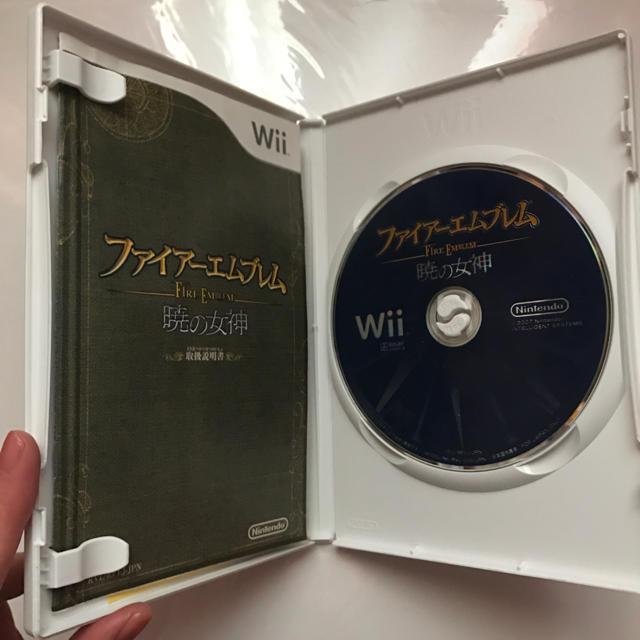 Wii(ウィー)のファイアーエムブレム 暁の女神 エンタメ/ホビーのテレビゲーム(家庭用ゲームソフト)の商品写真