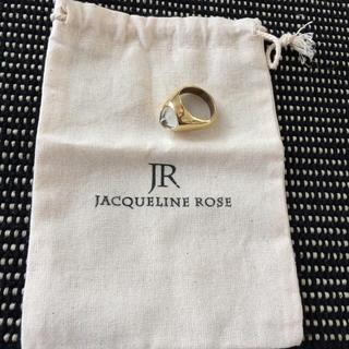 新品未使用Jacqueline Rose signet ringリング(リング(指輪))