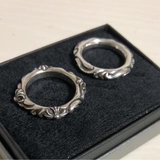 クロムハーツ風 シルバー925 14号(リング(指輪))