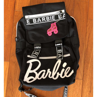 バービー(Barbie)のBarbie テープロゴ リュック ⭐︎値下げ(リュック/バックパック)