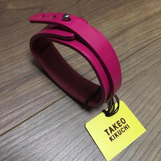 タケオキクチ(TAKEO KIKUCHI)のTAKEO KIKUCHI(タケオキクチ) 革製ブレスレット(ブレスレット/バングル)