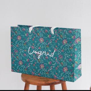 アングリッド(Ungrid)の限定ショッパー袋(ショップ袋)