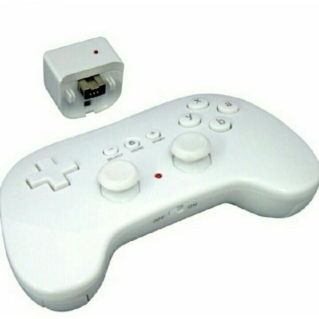 Wii(ウィー)の新品 未使用 ワイヤレス ラクコン Wii リモコン エンタメ/ホビーのテレビゲーム(その他)の商品写真