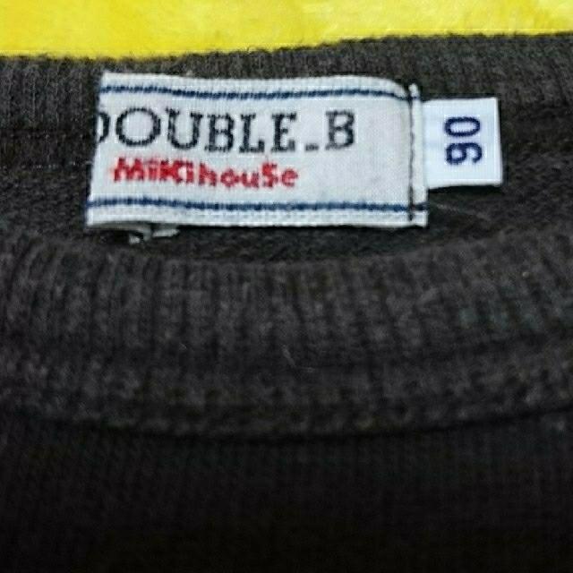 mikihouse(ミキハウス)のMikihouse  DOUBLE.B スロット柄トレーナー 90cm  キッズ/ベビー/マタニティのキッズ服 男の子用(90cm~)(ジャケット/上着)の商品写真