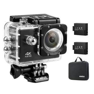 WIMIUS Wifi 4K(30FPS) アクションカメラ 防水 2.0インチ(ビデオカメラ)