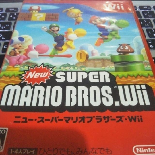 Wii(ウィー)の[再出品]New SUPER MARIO BROTHERS.wii  エンタメ/ホビーのテレビゲーム(家庭用ゲームソフト)の商品写真