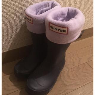 ハンター(HUNTER)のHUNTER 15cm 靴下付(長靴/レインシューズ)
