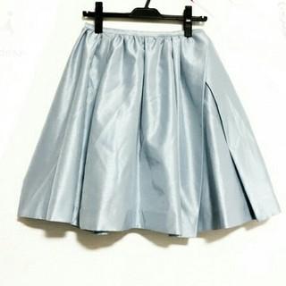 チェスティ(Chesty)のチェスティライトブルーフレアスカート水色系chesty(ひざ丈スカート)