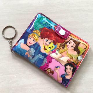 Disney - 【新品】ディズニープリンセス 二つ折り 財布 サイフ ミラー付ウォレット さいふ