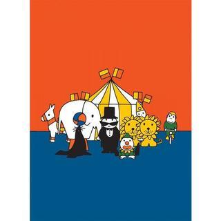 【ブルーナミニポスター019】絵本さーかす/サーカスのミッフィーの仲間(印刷物)