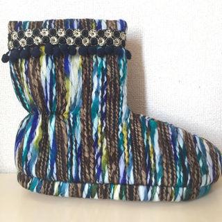 【未使用】KIRALY キラリー ルームシューズ Tear boots