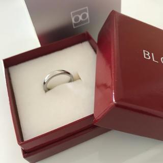 ブルーム(BLOOM)のひな様専用【美品】BLOOM ブルーダイヤ ピンキーリング(リング(指輪))