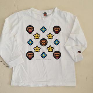 アベイシングエイプ(A BATHING APE)のBAPE KIDS 110センチロンT(Tシャツ/カットソー)