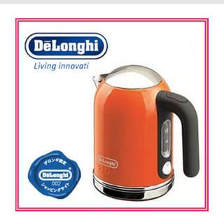 デロンギ(DeLonghi)の【複数購入で10%オフ〜様専用】デロンギ 電気ケトル(電気ケトル)