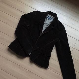 シマムラ(しまむら)のブラウンのベロアジャケット(テーラードジャケット)