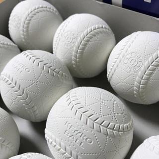 ナガセケンコー(NAGASE KENKO)の新品 軟式C球 1ダース(12球)(ボール)