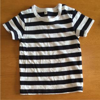 ムジルシリョウヒン(MUJI (無印良品))の無印良品 ボーダーTシャツ(Tシャツ/カットソー)