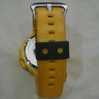 カシオ(CASIO)の初代定番フロッグマンのカスタムイエロー(腕時計(デジタル))