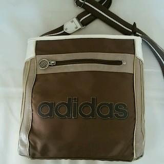 アディダス(adidas)のadidasダークブラウンのショルダーバッグ(その他)