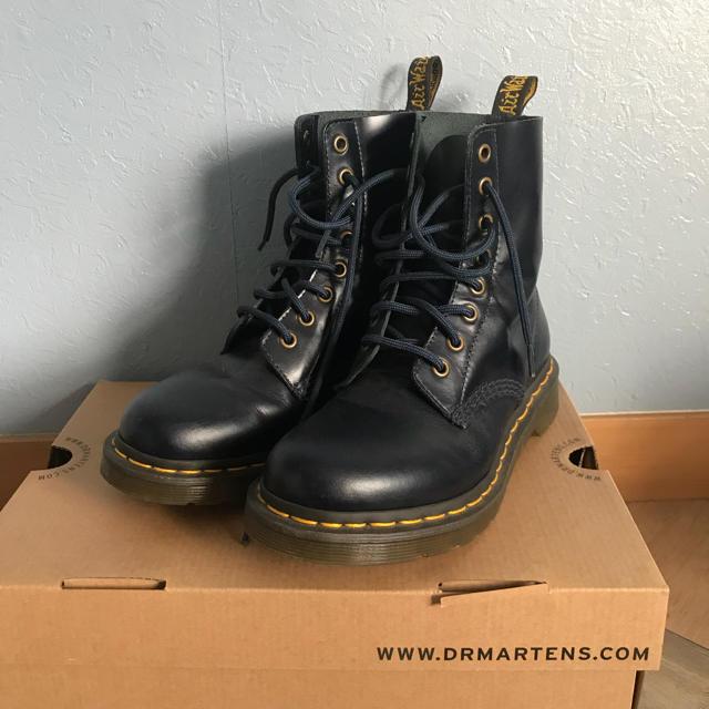 d94722902ec6c6 Dr.Martens(ドクターマーチン)のドクターマーチン ブーツ ネイビー レディース レディースの靴