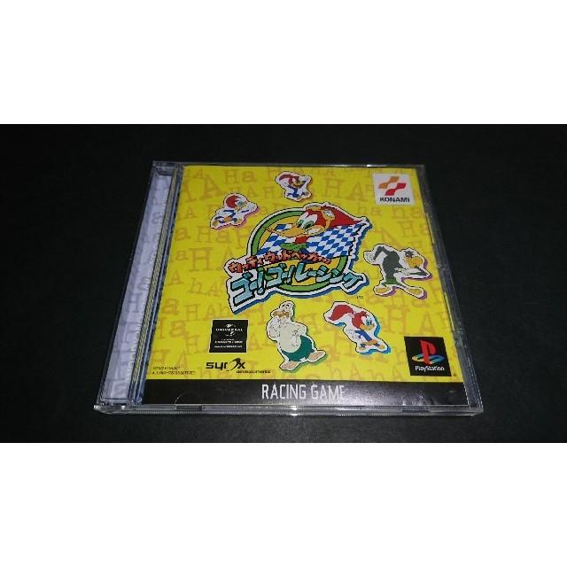 PlayStation(プレイステーション)のPS ウッディーウッドペッカーのゴー!ゴー!レーシング / 帯付き エンタメ/ホビーのテレビゲーム(家庭用ゲームソフト)の商品写真