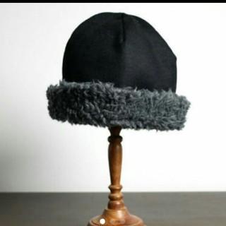 ネストローブ(nest Robe)のマチュアーハ 帽子 mature ha ボアハット  hood cap(ハット)