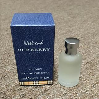 バーバリー(BURBERRY)の☆ BURBERRY Weekend 5ml(ユニセックス)