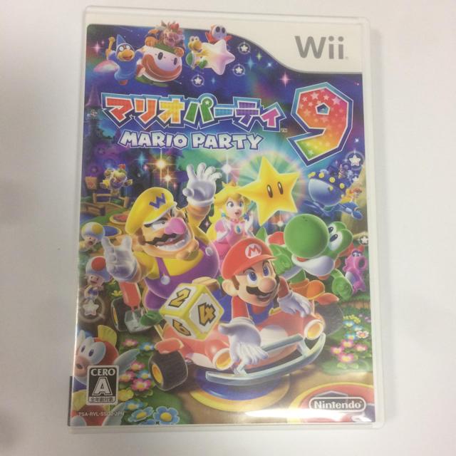 Wii(ウィー)のwii マリオパーティ9  エンタメ/ホビーのテレビゲーム(家庭用ゲームソフト)の商品写真