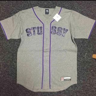 ステューシー(STUSSY)のStussy ステューシー ベースボールシャツ(ベスト)