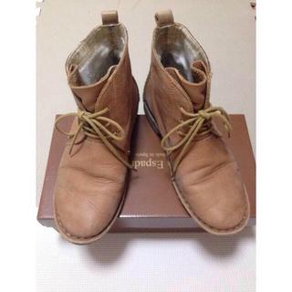 デザートブーツ(ローファー/革靴)