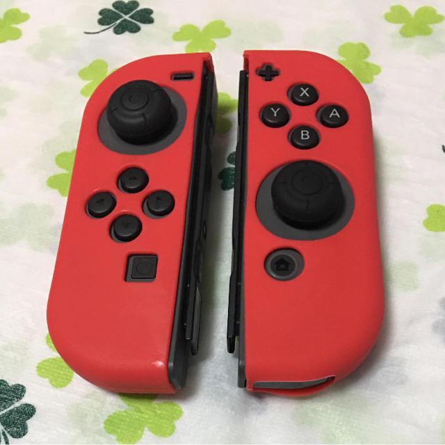 Nintendo Switch(ニンテンドースイッチ)の任天堂スイッチ ジョイコンカバー エンタメ/ホビーのテレビゲーム(家庭用ゲーム本体)の商品写真