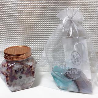 フランフラン(Francfranc)のSavons Gdmme & nini bath salt ROSe お得セット(ボディソープ / 石鹸)