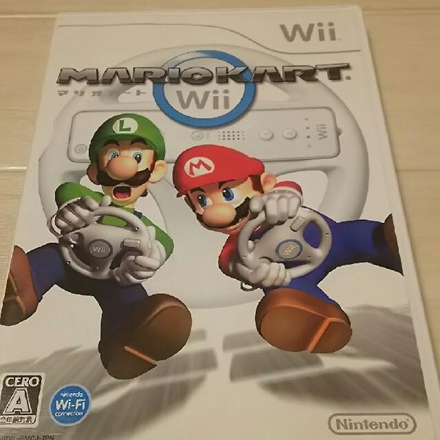Wii(ウィー)のWii マリオカート エンタメ/ホビーのテレビゲーム(家庭用ゲームソフト)の商品写真