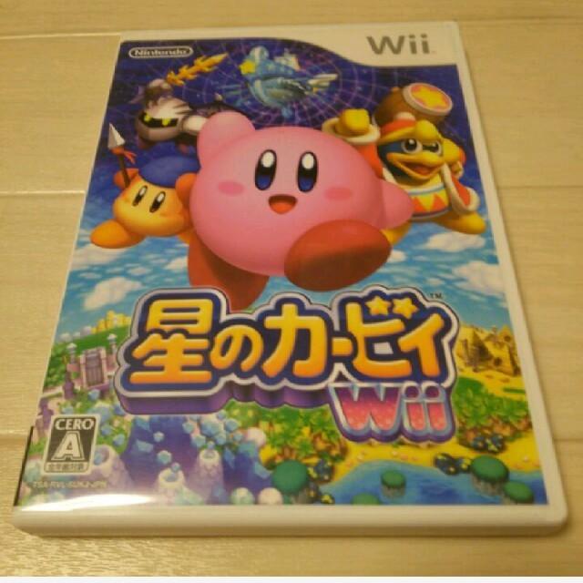 Wii(ウィー)のWii 星のカービィ エンタメ/ホビーのテレビゲーム(家庭用ゲームソフト)の商品写真