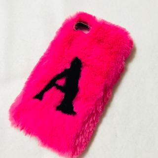 ザラ(ZARA)のZARA iPhone7 ファーケース ピンク(iPhoneケース)
