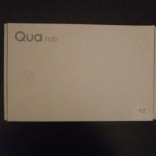 エルジーエレクトロニクス(LG Electronics)の新品SIMフリー Qua tab PZ ネイビー 元au 訳あり(タブレット)
