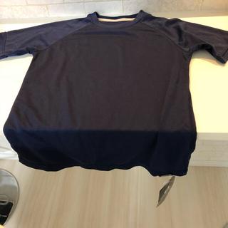 オンヨネ(ONYONE)のTシャツ Mサイズ ネイビー(Tシャツ(半袖/袖なし))