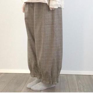 サマンサモスモス(SM2)のsm2  裾ギャザーパンツ(カジュアルパンツ)